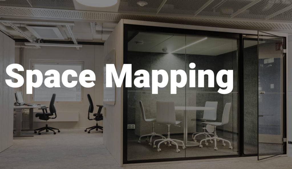 Space Mapping toimitila- ja etätyöratkaisun otsikkokuva